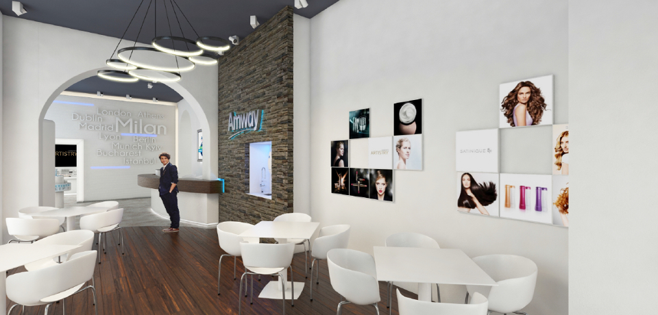 Amway - Business Center Milano render 2